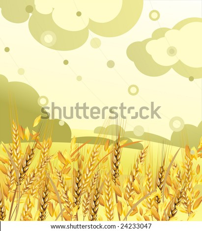 Pele, the grain - stock photo