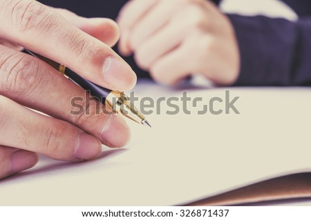 Pen, writing