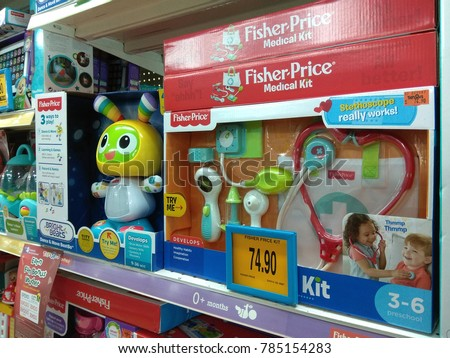 Penang Malaysia Nov 24 2017 Fisher Price Stock Photo Edit Now