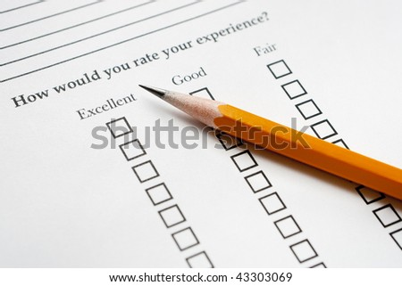 Pencil on Survey