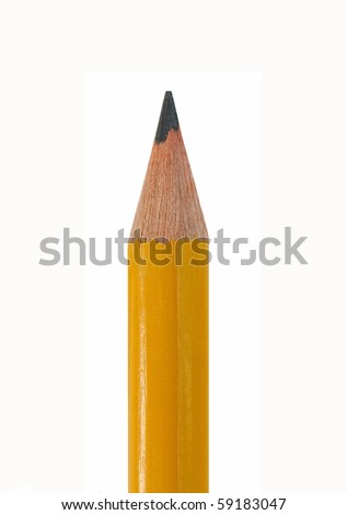 Pencil point - stock photo