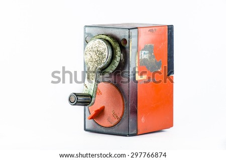 Pencil sharpeners - stock photo