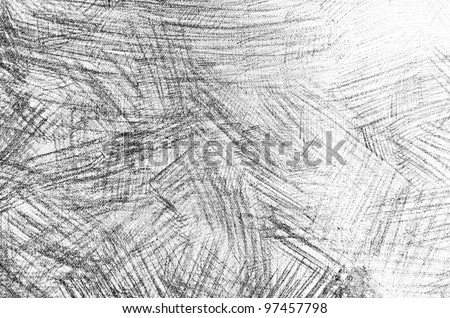 Pencil Sketch Grunge Texture - stock photo