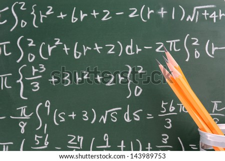 Pencils and numerical formula