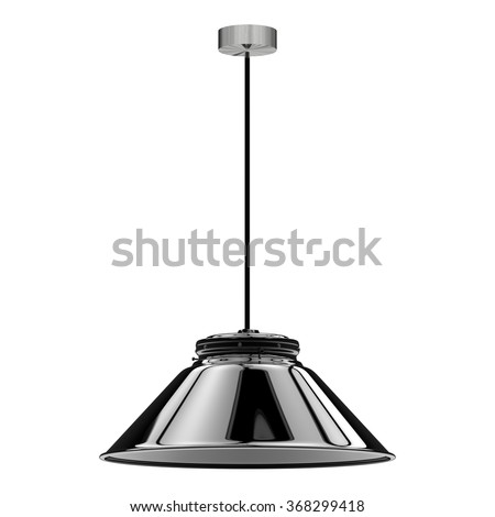 pendant lamp - stock photo