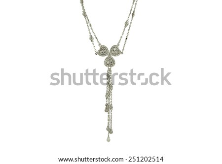 Pendants isolated on a white background - stock photo