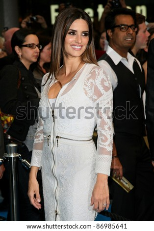 Penelope Cruz arriving for the UK premiere of 'Pirates Of The Carribean 4: On Stranger Tides', at Vue Westfield, London. 12/05/2011. Picture by: Alexandra Glen / Featureflash - stock photo