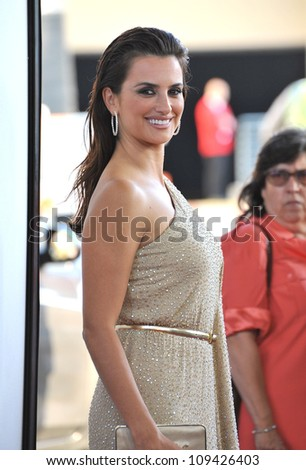 "Penelope Cruz at the LA Film Festival premiere of her movie ""To Rome With Love"" at the Regal Cinemas LA Live. June 15, 2012  Los Angeles, CA Picture: Paul Smith / Featureflash"