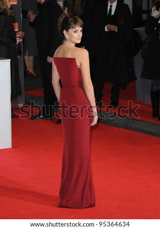 Penelope Cruz attends the Orange British Academy Film Awards 2012 at the Royal Opera House. February 12, 2012, London, UK Picture: Catchlight Media / Featureflash