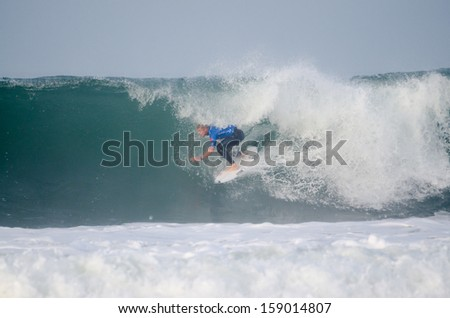 PENICHE, PORTUGAL - OCTOBER 17 : Mick Fanning (AUS) during the Rip Curl Pro Portugal, October 17, 2013 in Peniche, Portugal