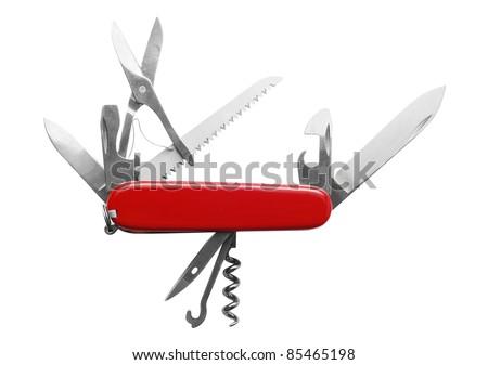 penknife - stock photo