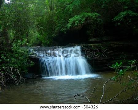 Penny Creek Falls - stock photo