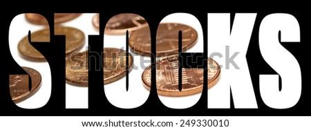 Penny Stocks, Stock Market Money  - stock photo