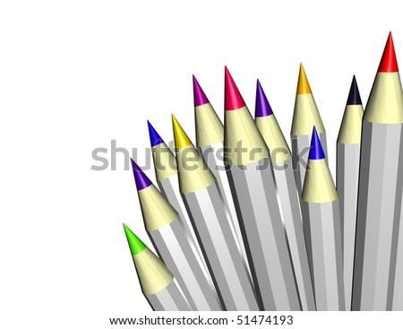 pens - stock photo