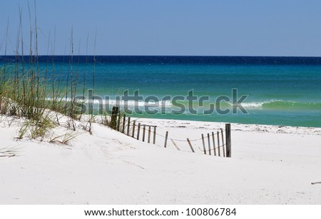 Pensacola Beach - stock photo