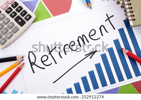 Pension fund, growth, retirement concept. - stock photo