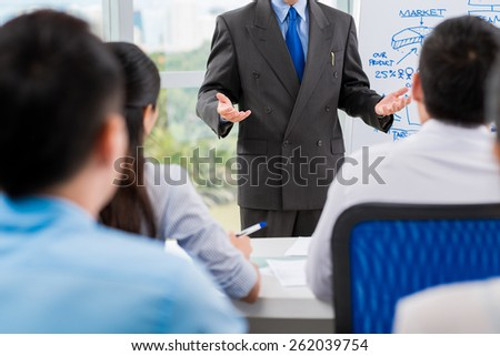 People at lecture - stock photo