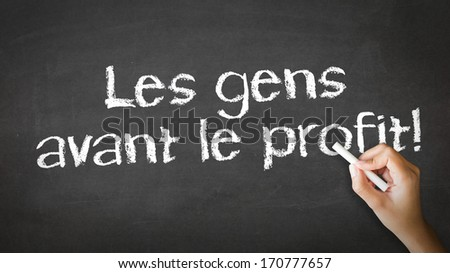 People Before Profit (In French)