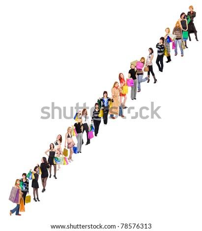 People Business Symbol - stock photo