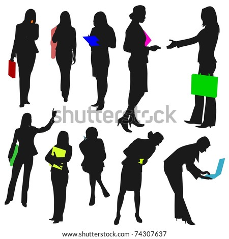 People - Business Women No.2. - stock photo