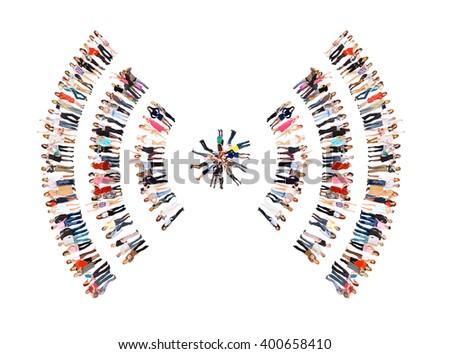 People Diversity Corporate Teamwork  - stock photo