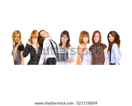 People Diversity Small Group  - stock photo