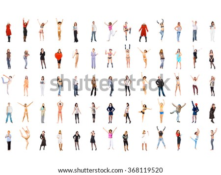 People Diversity Teamwork Achievement  - stock photo