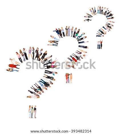 People Diversity Together we Stand  - stock photo