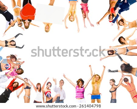 People Diversity United Colleagues  - stock photo