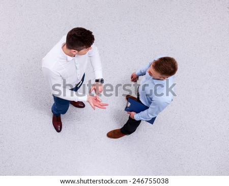 people having business meeting - stock photo