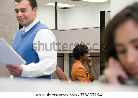 People in office - stock photo