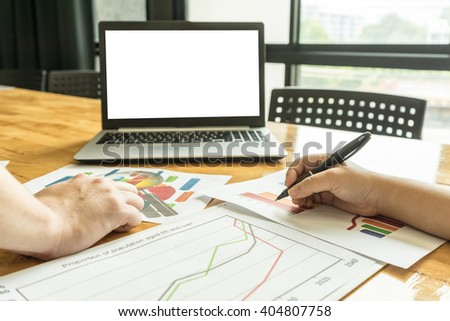 people meeting to plan about  Business for teamwork - stock photo
