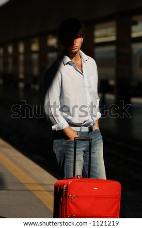 people of Florence, Italy - stock photo