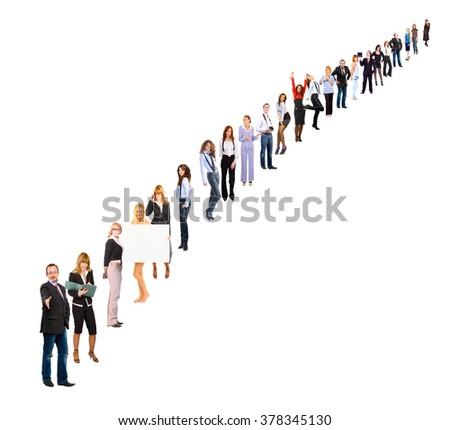 People Order Office Idea  - stock photo