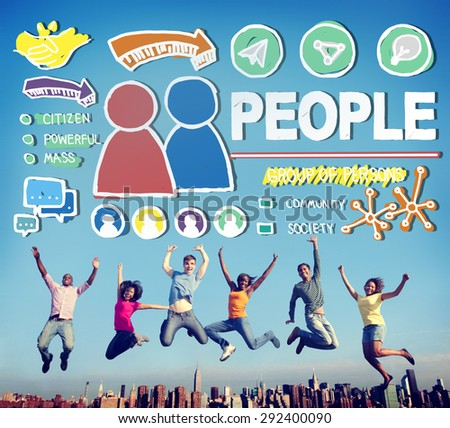 People Person Group Citizen Community Concept