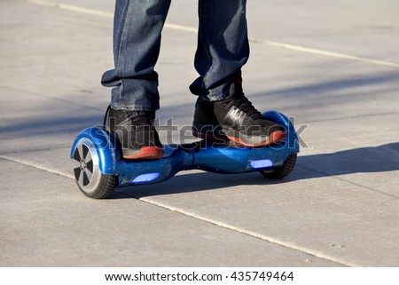 Electric Skateboard Stock Images Royalty Free Images