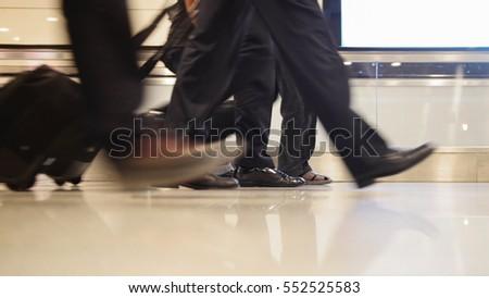Airport Safe Black Mens Shoes
