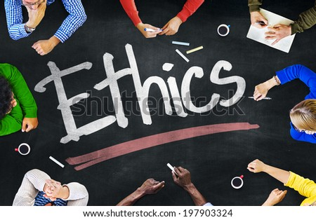 People Working and Ethics Concept - stock photo