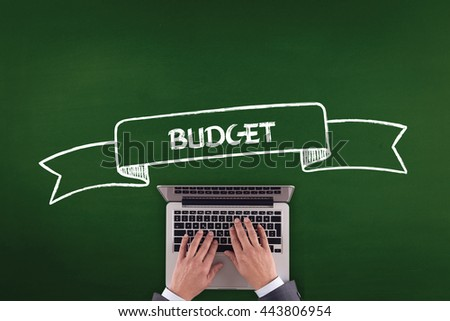 PEOPLE WORKING OFFICE COMMUNICATION  BUDGET TECHNOLOGY CONCEPT - stock photo