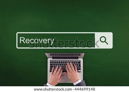 PEOPLE WORKING OFFICE COMMUNICATION  RECOVERY TECHNOLOGY SEARCHING CONCEPT - stock photo