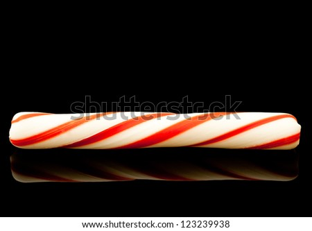 Peppermint Stick - stock photo