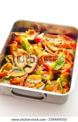 Peppers gratin