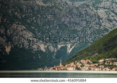 Perast, Montenegro - stock photo