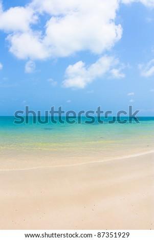 Perfect beach - stock photo
