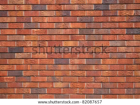 perfect brick wall texture - stock photo