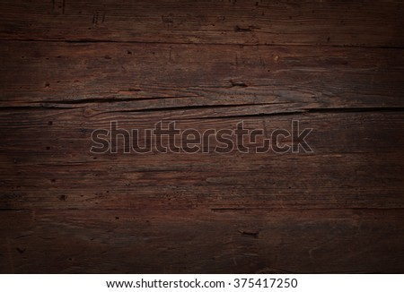 perfect brown wooden panels  - stock photo