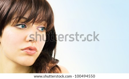 Perfect Clear skin - stock photo