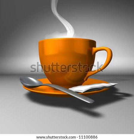 Perfect Cup of Coffee - stock photo