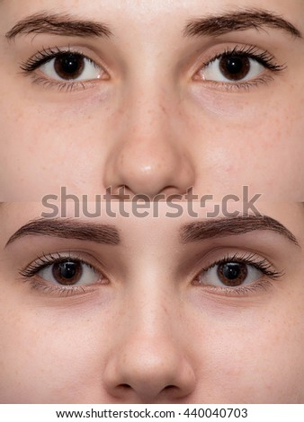 Thin Eyebrows Stock Images, Royalty-Free Images & Vectors ...