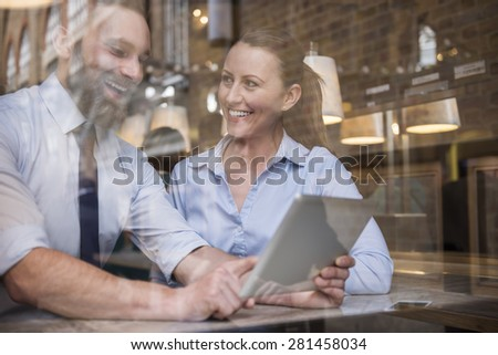 Perfect way for signing a new business contract  - stock photo
